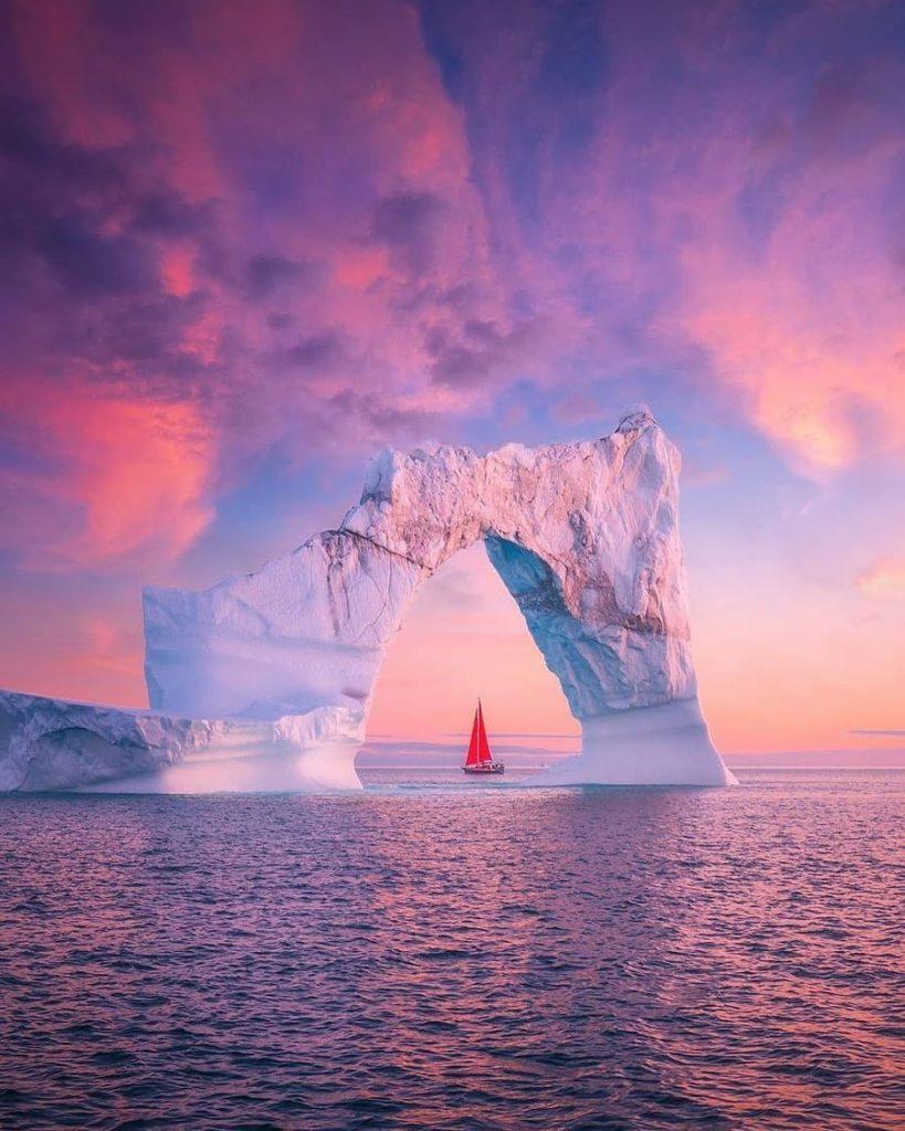 Аляска закат