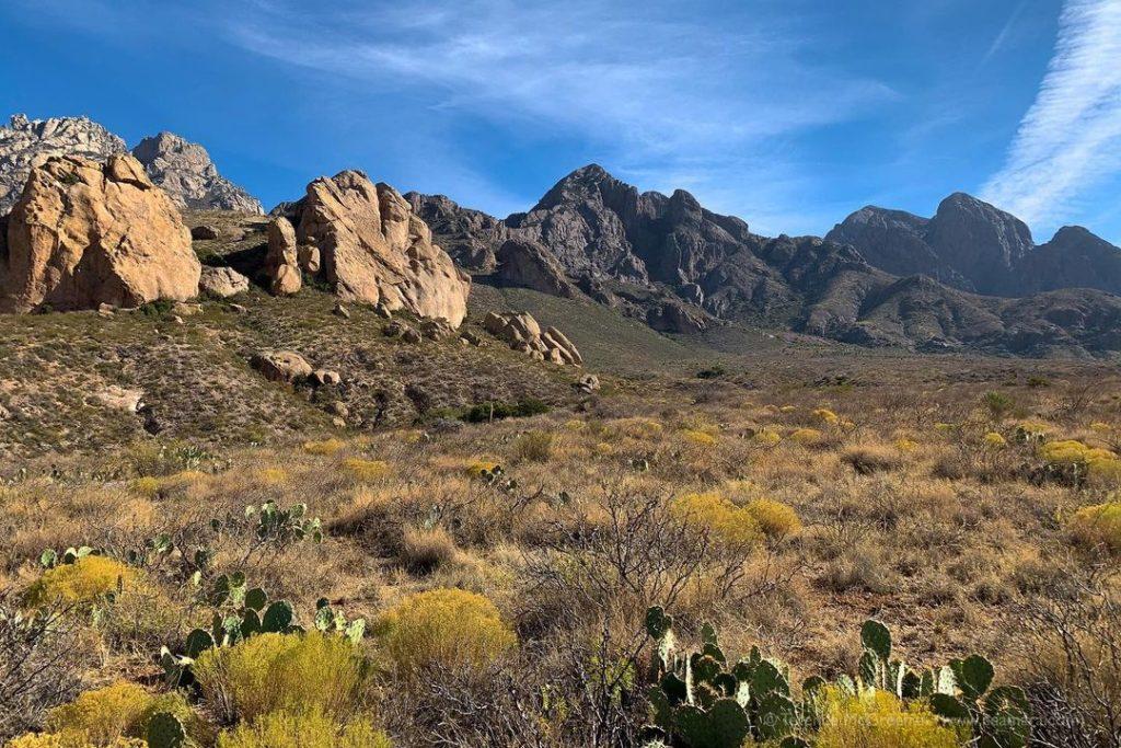 Горы Орган - пустынные вершины
