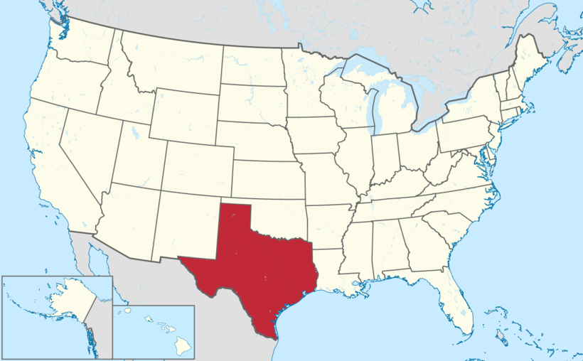 Штат Техас