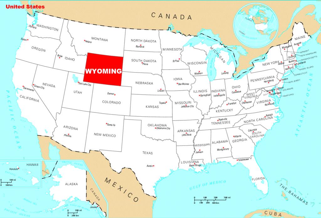 Штат Вайоминг