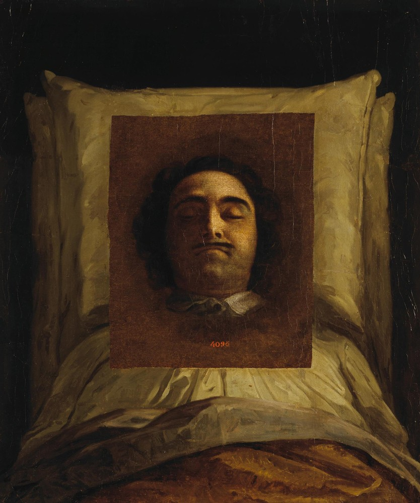 Портрет императора Петра I на смертном одре. Картина Луи Каравака. 1725 год