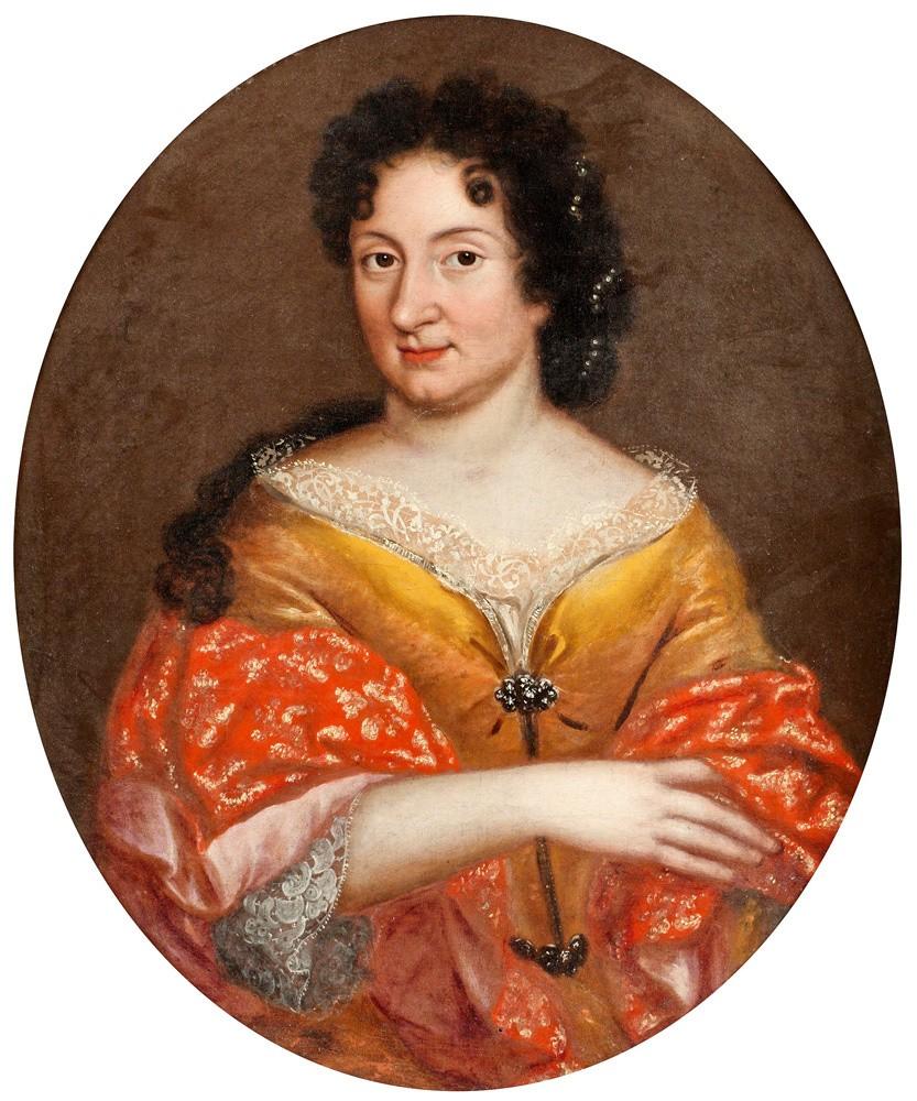 Предположительный портрет Анны Монс. Картина неизвестного художника русской школы. XVII–XVIII века