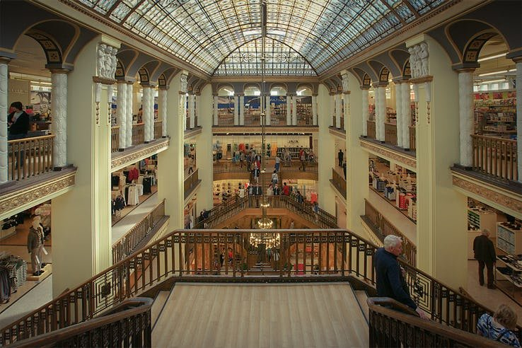 Лобби отеля Гранд Будапешт