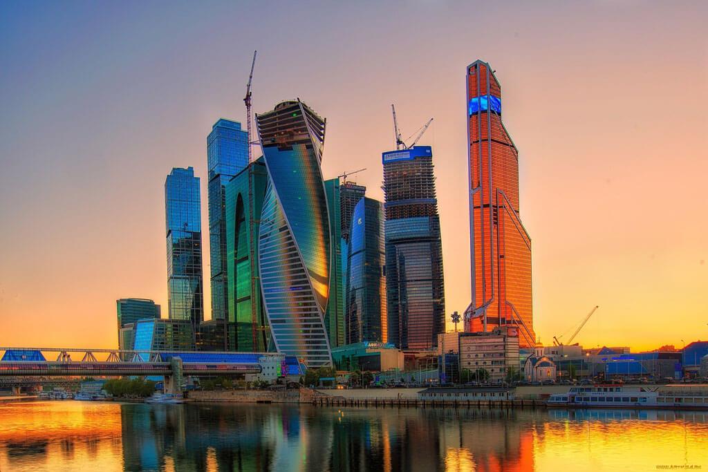 Красивая Москва-сити