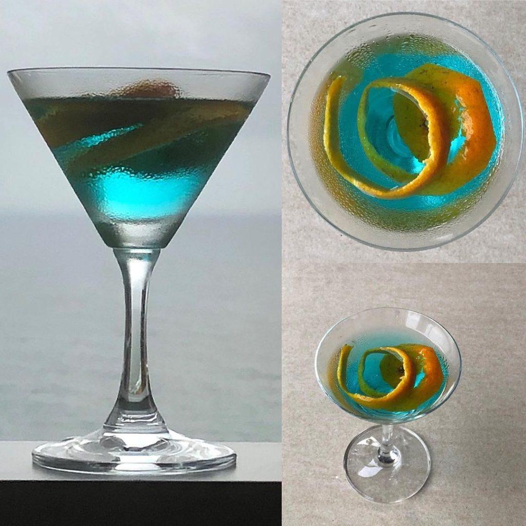 Сапфировый мартини