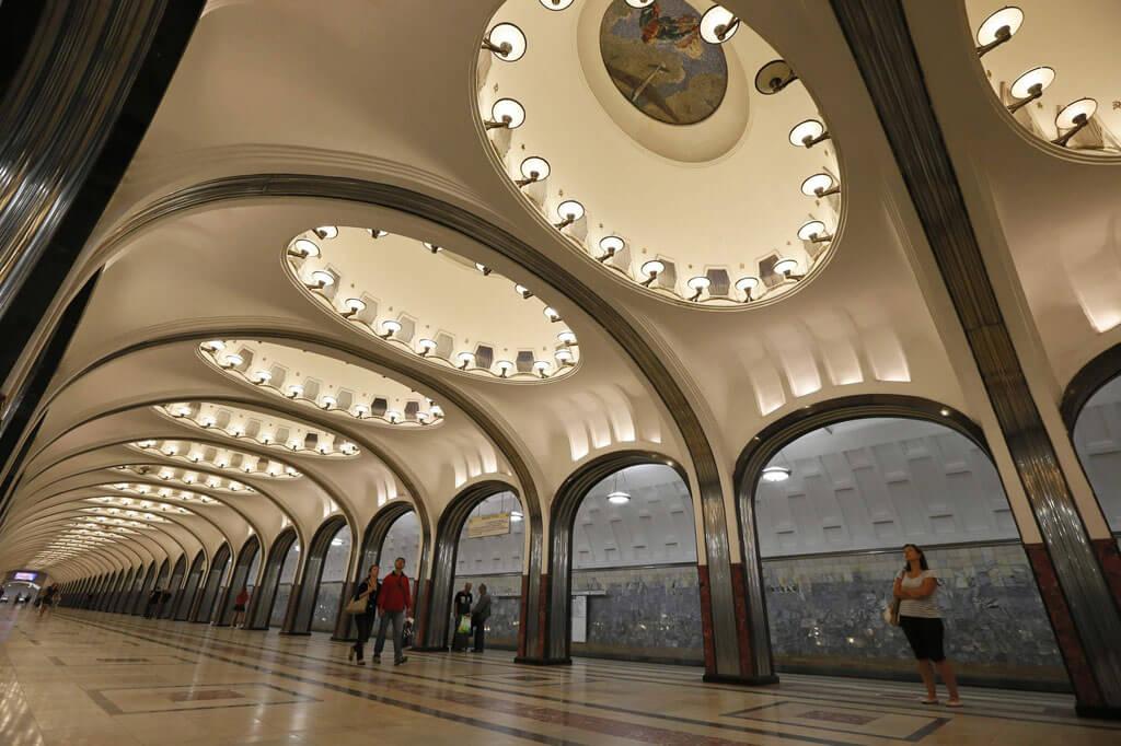 Станция метро Маяковского