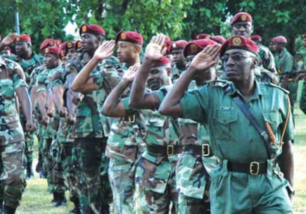 Антигуа и Барбуда армия