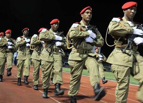 Сейшельские острова армия