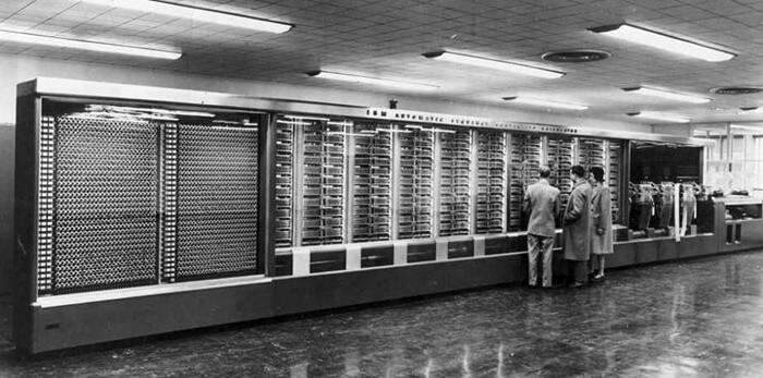 Марк 1 в музее IBM